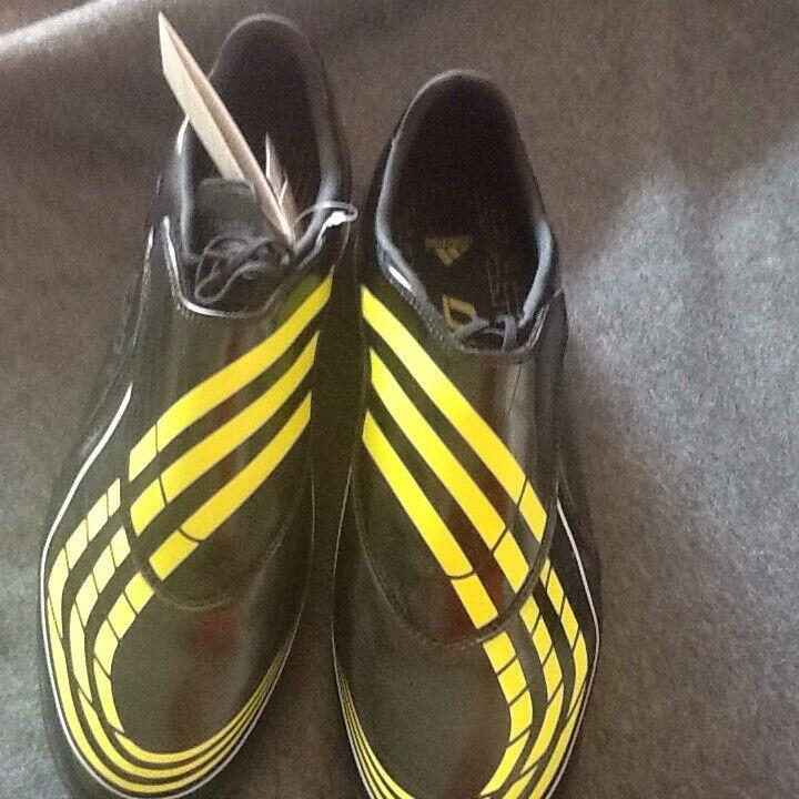 Adidas F30.9 SOCCER Gr 46  2 3 Schwarz Gelb