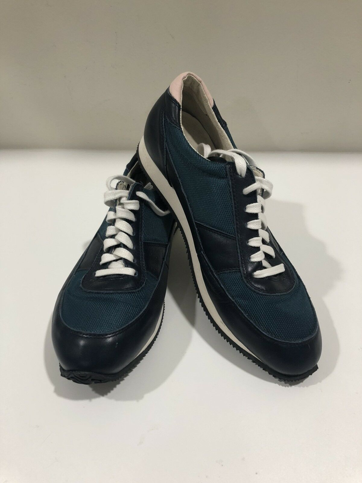 OUR OUR OUR LEGACY Mens Blau Leather Lace Up Runner Turnschuhe Größe EU 41 US 8 -Never Worn 528df0