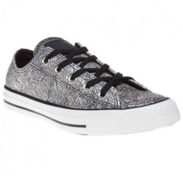 Converse all Star Cracked Leather Ox 551591C Size 36 Women's Sneaker Chucks