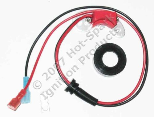 Electronic Ignition Kit Replaces Points in 1957-74 Ford 8-Cylinder V8-3FOR8U1