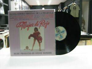 The Woman IN Red LP Spain Original Soundtrack 1984 Klappcover