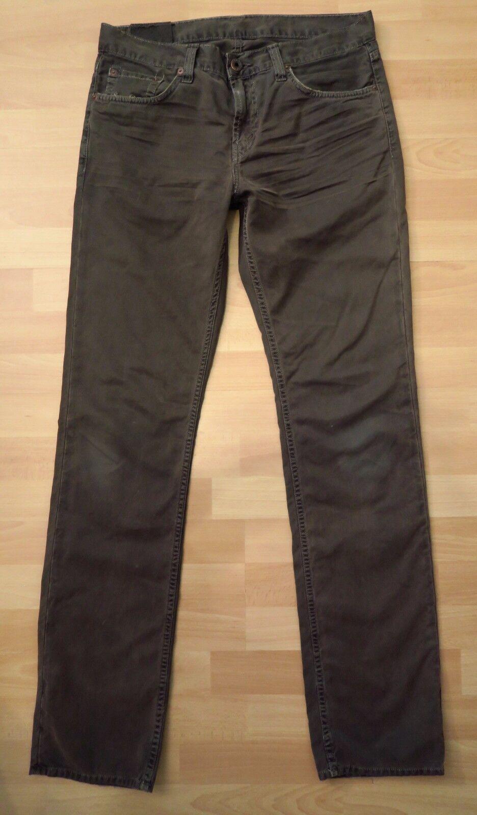 J. BRAND Pantalon np179 € W Marron 32 l/52 Marron W Pantalon homme chinos Marron stoffhose 0b392f