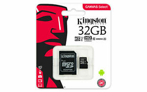 Kingston-Micro-32Gb-Karte-Speicherkarte-Class-10-Sdhc-Microsd-Sdxc-Sd-Adapter