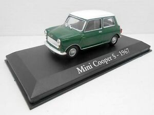 1-43-COCHE-MINI-COOPER-S-VERDE-1967-SEAT-IXO-RBA-1-43-METAL-MODEL-CAR-MINIATURA