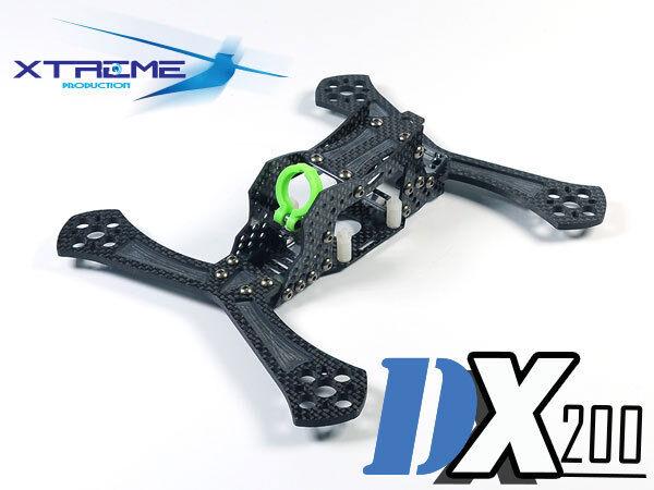 CLOSEOUT Xtreme DX200 FPV Racing Drone 200 3K Carbon Fiber Frame  200mm, 5   - X