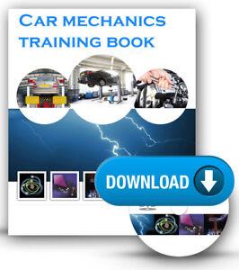 Car Mechanics Mechanic Tools Training Book Course DOWNLOAD ...
