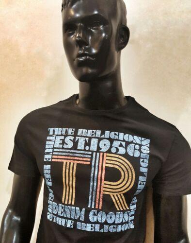 Tshirt mens true bio Original new 100 noir coton religion rrUnvHdqw