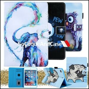 Etui-Coque-Housse-Animals-Series-Cuir-PU-Leather-Case-Cover-iPad-Collection-Film