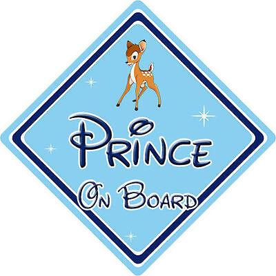 Disney Bébé À Bord Voiture Signe-Bambi