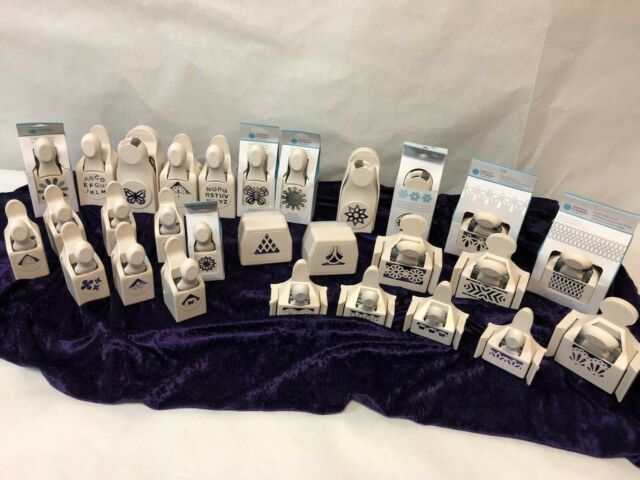 28 Different Martha Stewart Crafts Paper Punches - 7 NIB, ALL in EXCELLENT COND.