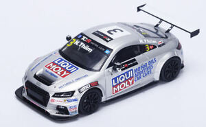 Audi Tt Tcr # 3 Série internationale 2015 Nicki Thiim Modèle 1:43 Spark