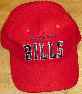 b383bcff839 Buffalo Bills 90s (STARTER) ARCH Logo Vintage Snapback hat NFL Kelly ...