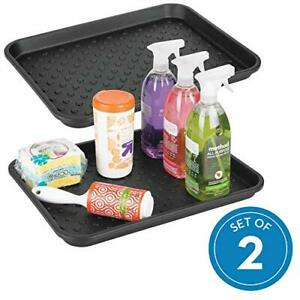 Idesign Plastic Under The Sink Drip Protector Tray For