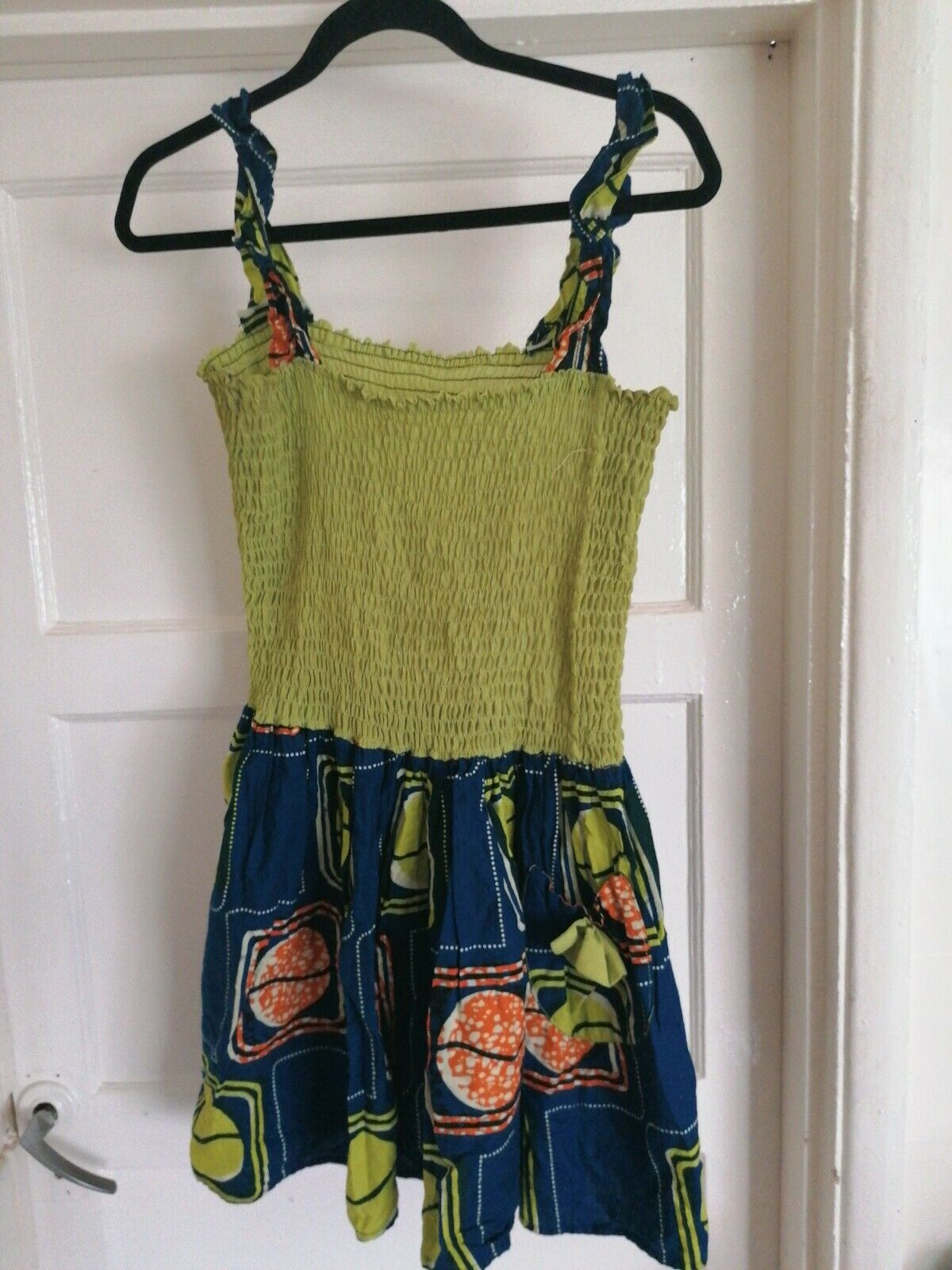 Nigerian / African Tennager, Summer Dress with elasticated Top
