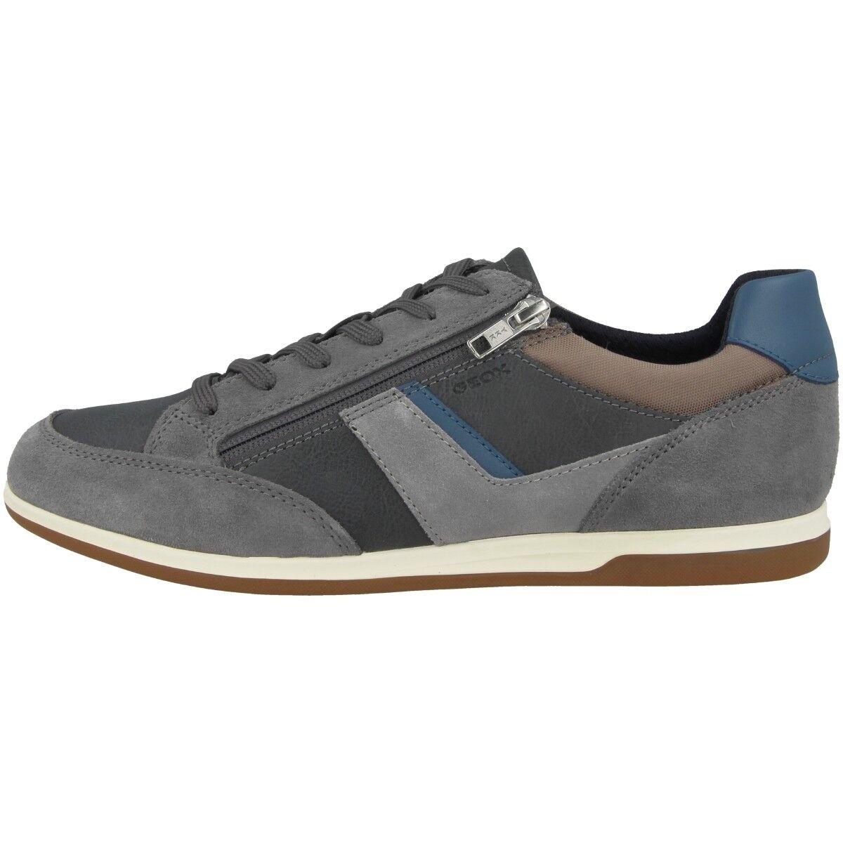 Geox U Renan C shoes men Tempo Libero da Ginnastica Basse grey