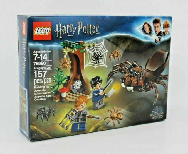 LEGO Building Toy Harry Potter Set #75950 Aragog's Lair