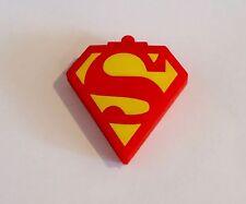 Minigz Superman Logo Usb Stick 32gb Memory Keyring Flash Drive Pc Computer Gift