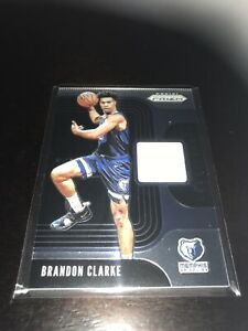Panini-Prizm-Brandon-Clarke-Jersey-Relic-RC-Grizzlies-19-20-Insert