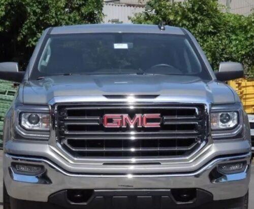 "2014-2018 GMC Sierra Denali Front Grille Emblem Logo 22757017 17/"" 1500 2500 3500"