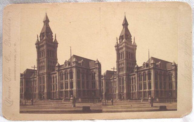 Union View early CITY HALL BUFFALO NY New York