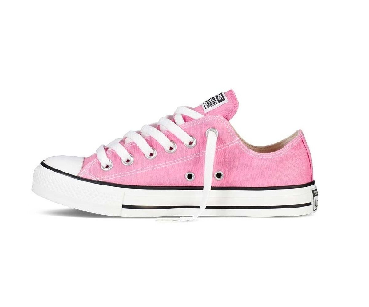 a99f2e90b114 Converse Chuck Taylor All Star Ox M9007 - Classic Pink Trainers UK 3 ...