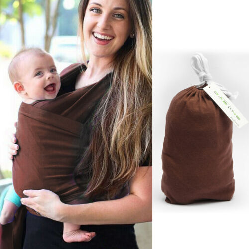 Sling Baby Carrier Wrap Newborn convenient Breastfeeding Breathable Brown Hot