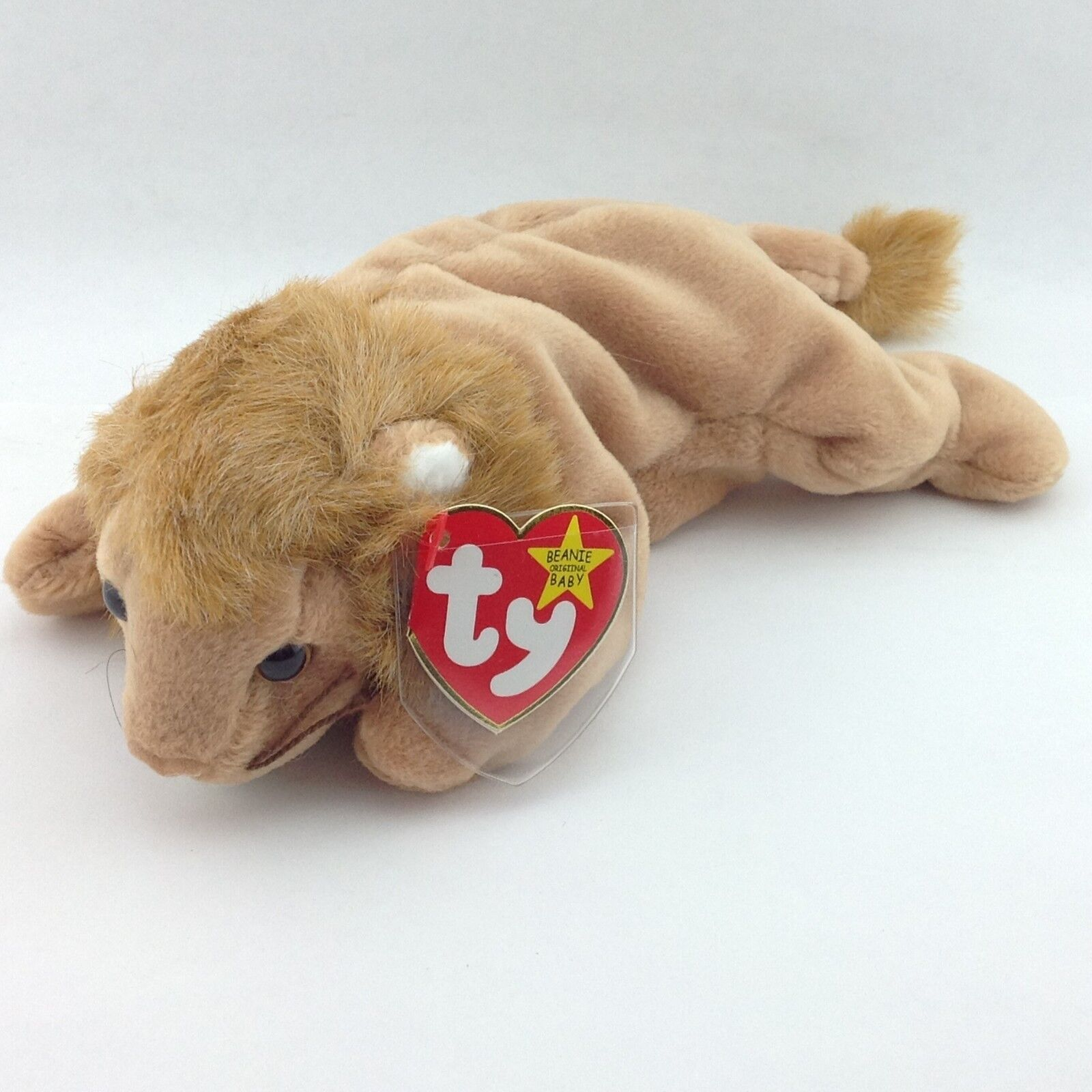 ef0903ecceb TY Beanie Baby 1996 Roary with Errors with Tags Pellets MINT Lion P.E.  oxornm1167-Retired