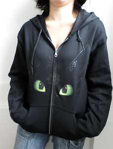 Toothless how to train your dragon night fury adults zip up hoodie image is loading toothless how to train your dragon night fury ccuart Images