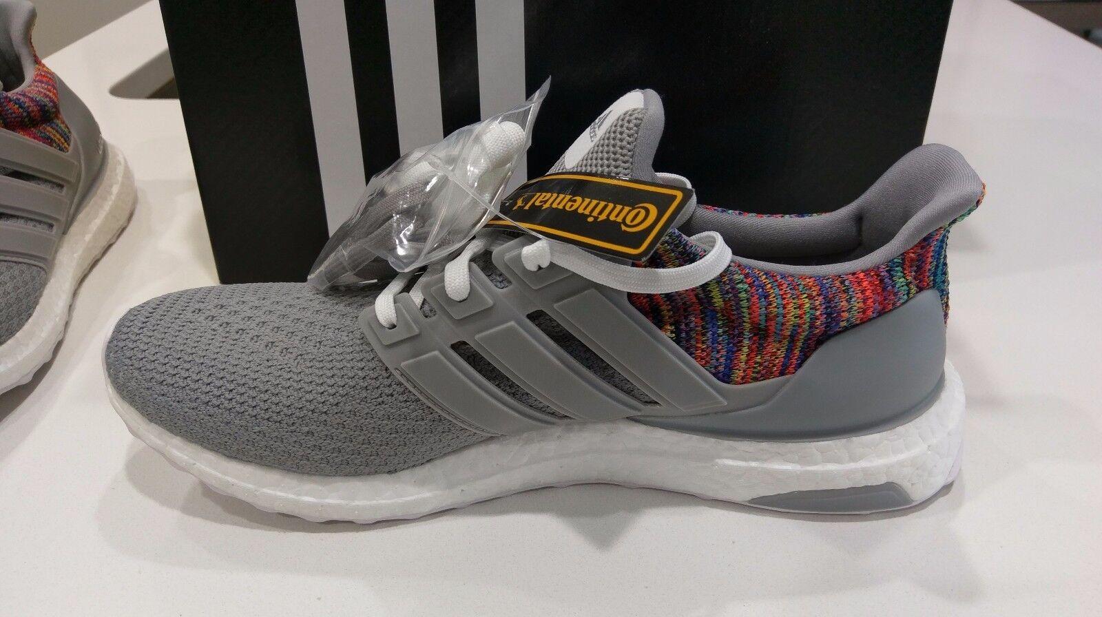 * miadidas nuove adidas miadidas * arcobaleno e 'grigio ultra aumentare dimensioni 10 multicolore scorte morte rara * ed6e2d