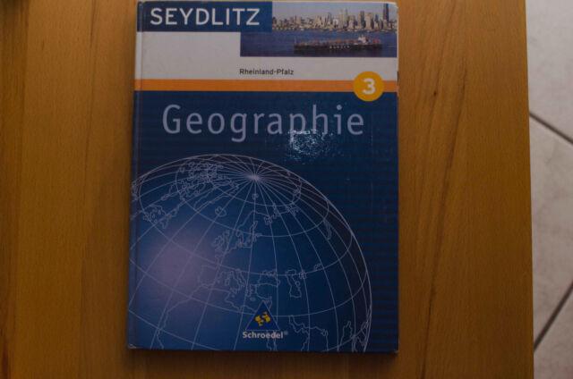 Schulbuch Geographie 3 Rheinland-Pfalz ISBN 978-3-507-52573-3