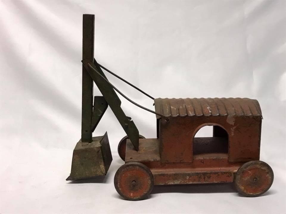 Antique Turner Pressed Steel Shovel Loader