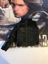 Hot Toys MMS358 Captain America Civil War Winter Solider Leather Jacket 1/6