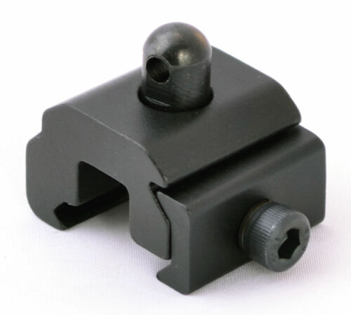 2X Rail Mounted Gun Sling Adapter Swivel Stud Picatinny Weaver Accessoy Rail #2