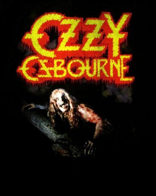 OZZY OSBOURNE cd cvr BARK AT THE MOON Official SHIRT XXXL 3X New black sabbath