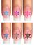 Indexbild 10 - Nail Tattoo Nail Art Schneeflocken Eiskristalle Winter Weihnachten + Glitter