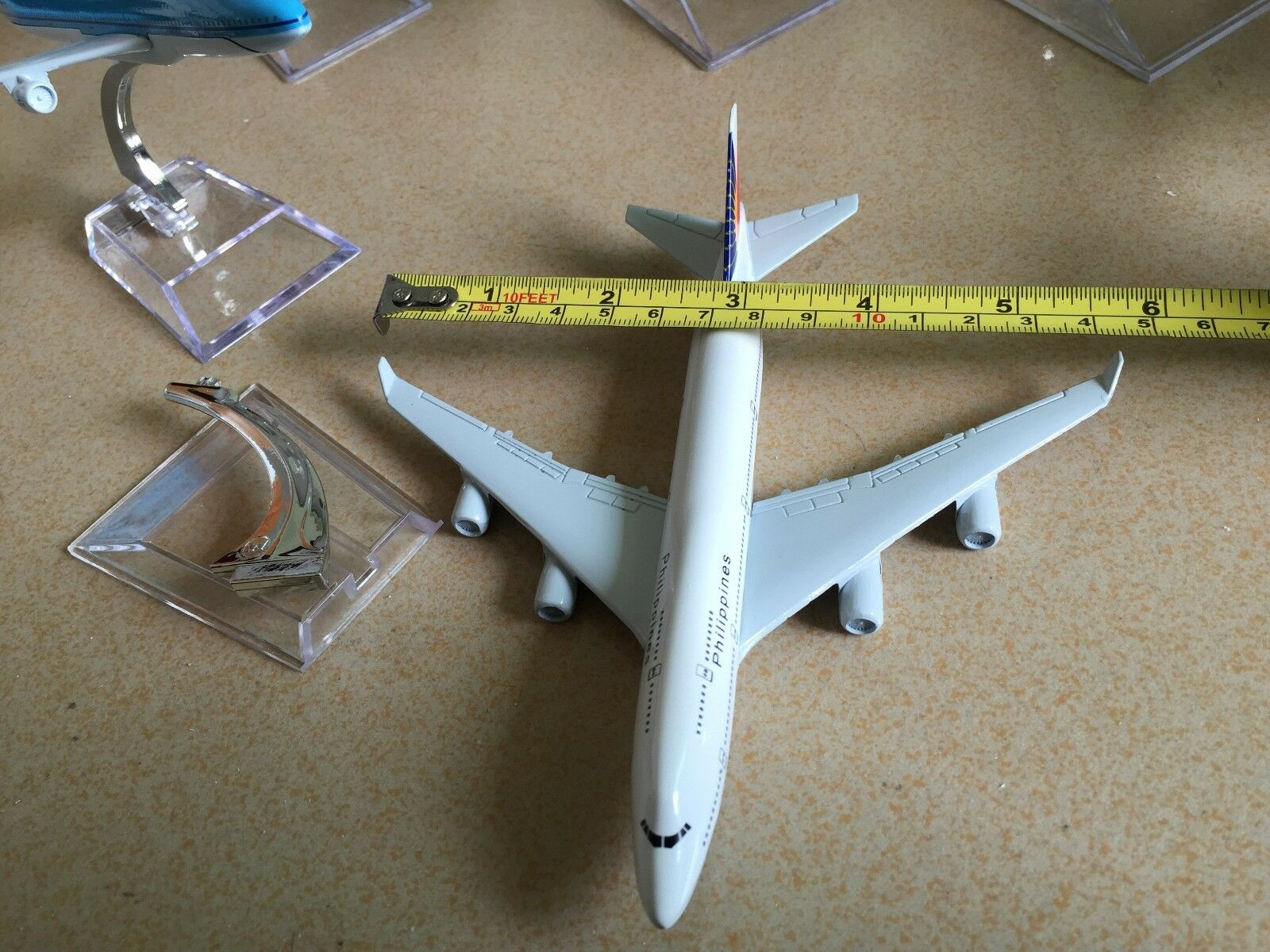 10PCS BOEING 747 Passenger Airplane Airplane Airplane Plane Metal Diecast Model Collection C2 c0952e