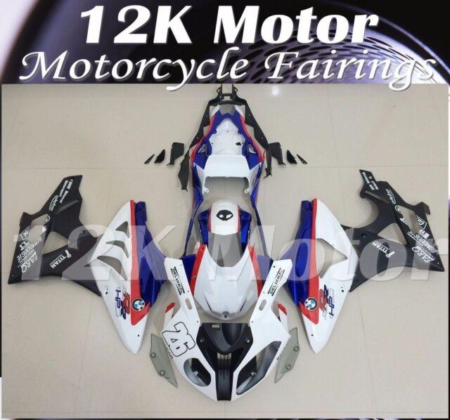 Fit For BMW S1000RR 2009 2010 2011 2012 2013 2014 Fairing Set FairingS Kit 6-