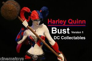 Harley-Quinn-Bust-by-Jim-Lee-Limited-Edition-2500-DC-Comics-1st-Edition-Statue