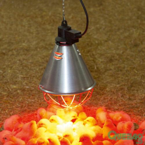 Infrarot Wärmestrahlgerät Wärmestrahler 2,5m Kabel Sparschalter f Rotlichtlampe