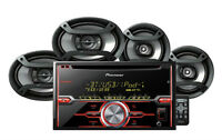 Pioneer Fxt-x7269bt Fh-x720bt Cd Player Receiver + 6.5 & 6x9 Speakers Combo on sale