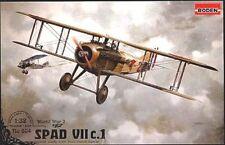 SPAD S VII C1 (ARMEE DE L'AIR/FRENCH AF MKGS - GUYNEMER, LENOIR) 1/32 RODEN RARE