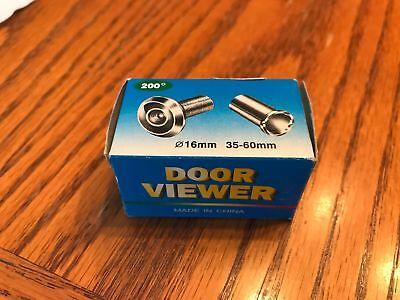 Jifu Door Viewer B-204 200 Degree Angle Diameter 16mm NEW FREE FAST SHIPPING!!