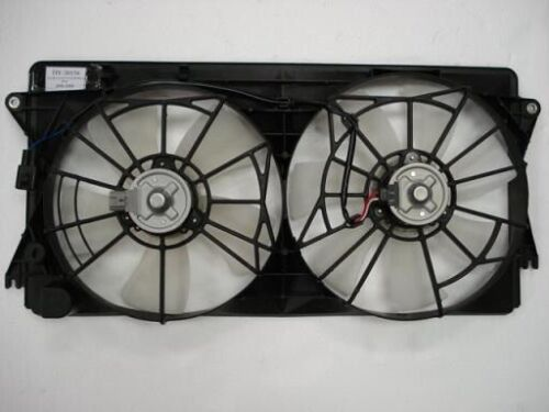 Dual Radiator and Condenser Cooling Fan For 2000-2005 Toyota Celica//MR2 Spyder