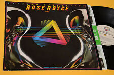 ROSE ROYCE LP RAINBOW CONNECTION ORIG GERMANY 1979 MINT UNPLAYED MAI SUONATO !!