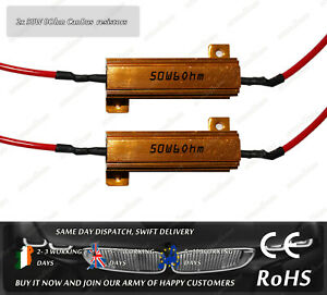 50W-6Ohm-Load-Resistor-CanBus-Error-Warning-Canceller-H7-H8-H11-9006-HB4-HB3
