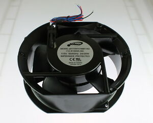 115v cooling fan wiring new sofasco fan 5 blades 115vac 6.77x6x2 wire leads 115v ...