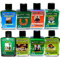 Spiritual Oil Many Names- Success Money Aceite Espirituales Exito Dinero Suerte