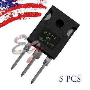 5pcs-5X-IRFP460-20A-500V-Power-MOSFET-N-Channel-Transistor-TO-247-US-SHIP
