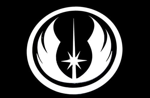 Vinyl Decal Jedi Symbol Laptop Car Wall Window 75081z