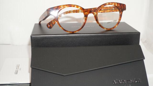 Alain Mikli Rx Eyeglasses Frames A03079 001 54-17-145 Havana Made in Italy